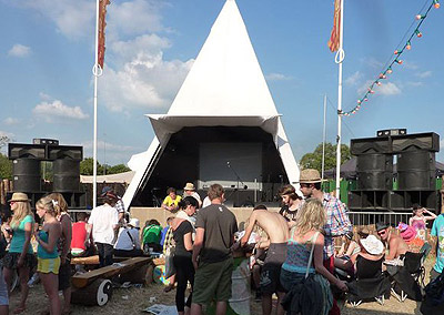 Ace Vintage Systems at Glastonbury.